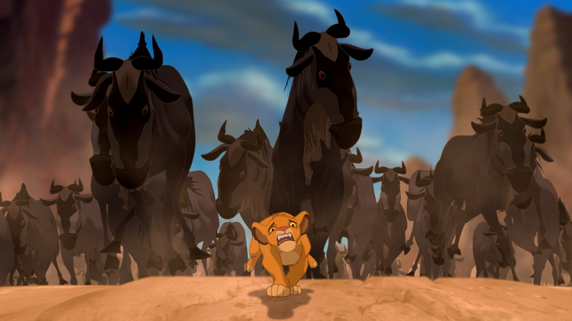 Get Outta the Way, Simba!
