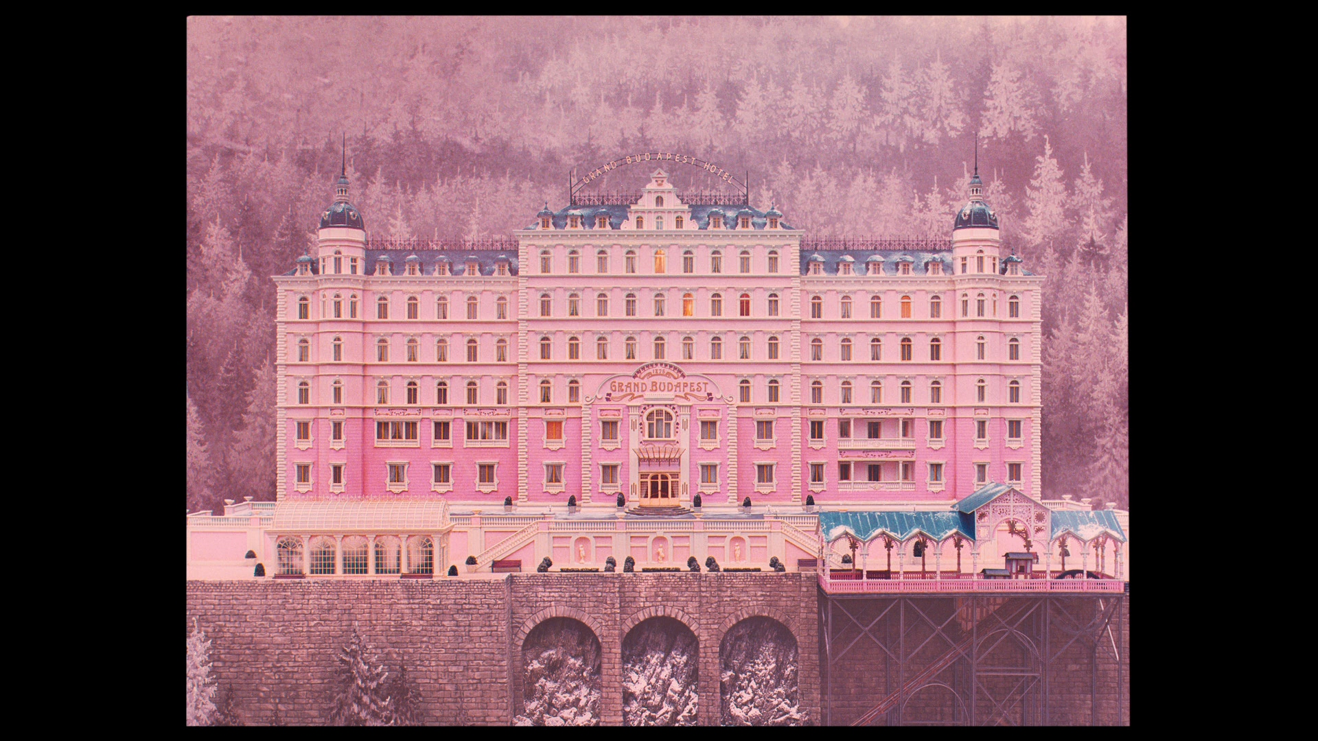 Grand Budapest Hotel Wallpaper: The Grand Budapest Hotel Blu-ray Review